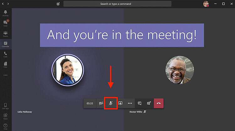 Microsoft Teams - Do's and dont's of video chat