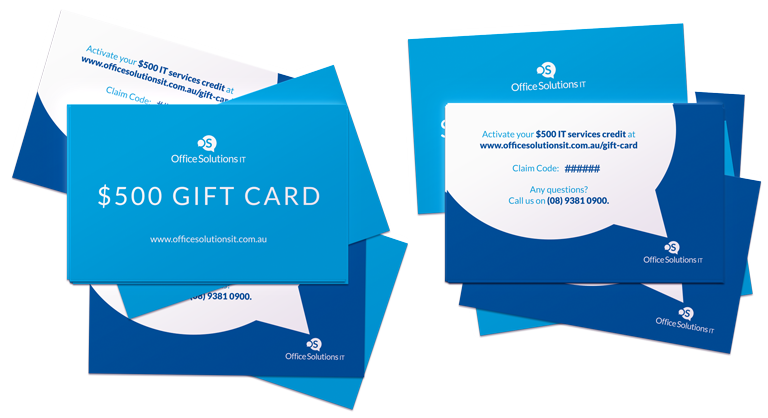 Office Solutions IT  friends with benefits gift cards