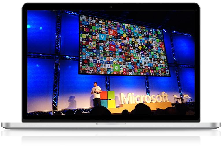 Office Solutions IT attending Microsoft event