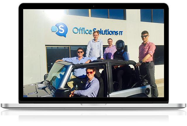 Office Solutions IT support engineers