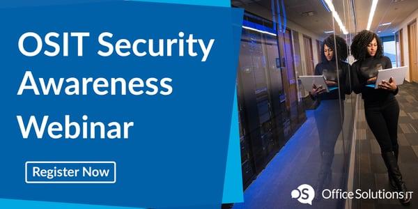 OSIT Security Awareness Webinar