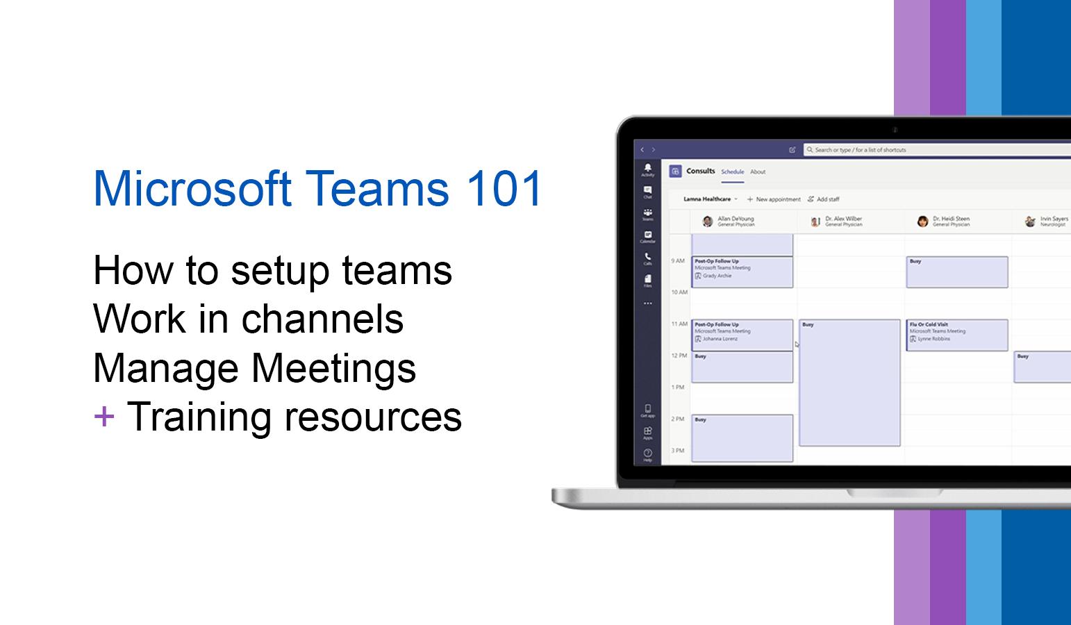Microsoft Teams for Beginners: 101